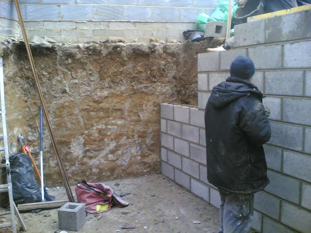 Underground garden basement specialists in london and kent for Build your own garden room