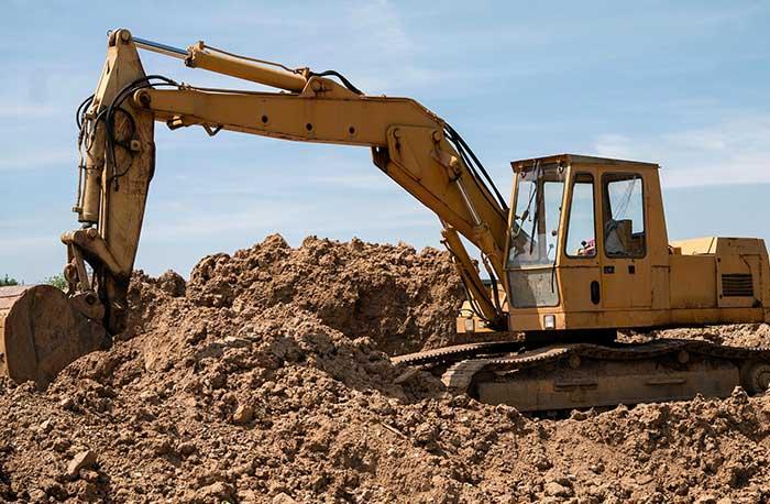 local excavator
