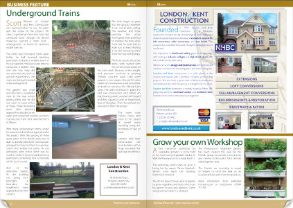 London and Kent article in Senine